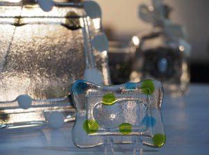 ガラスフュージングの小物