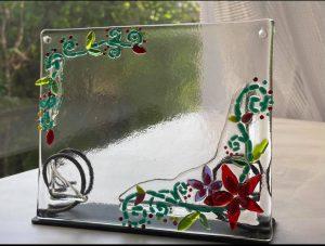 ガラスフュージングのスタンド